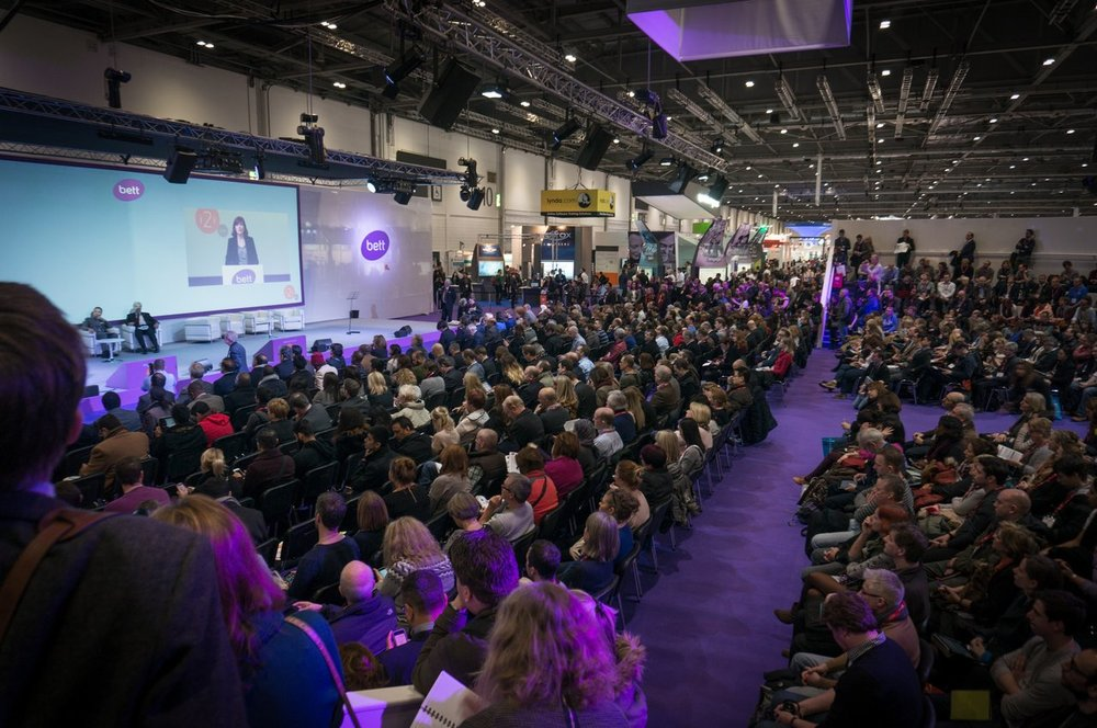 Bett education technology event
