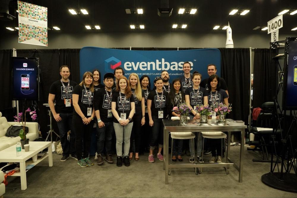 The Eventbase team onsite at SXSW.
