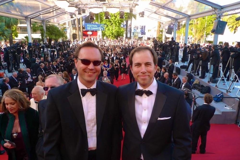 Sinclair and West walk the red carpet at Cannes Lions.