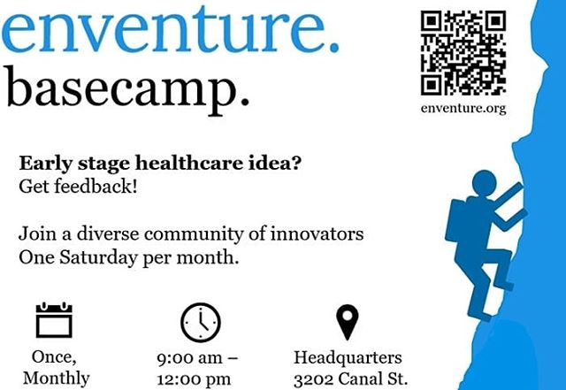 What a great opportunity to learn which questions to ask when determining idea viability for a new company!  First meeting is March 23rd, 9am-12pm.  RSVP and find out more at www.enventure.org/category/Basecamp  #startherenow #startups #opportunity #entrepreneur