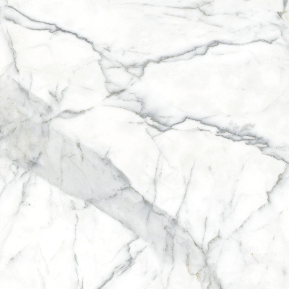 Calacutta Oro , a stylized marble design.