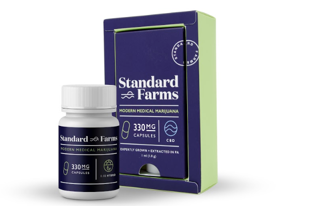 Standard Farms Capsules - Not recommended to cut as they contain olive oil.