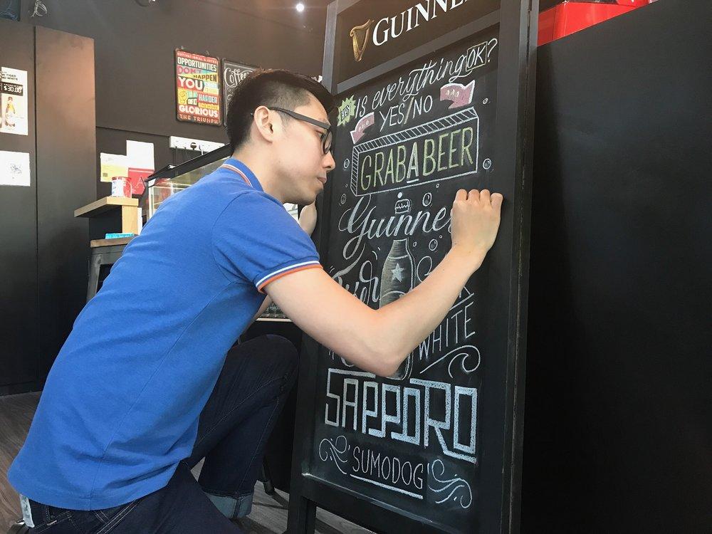 Designate Studio - SumoDog Chalkboard