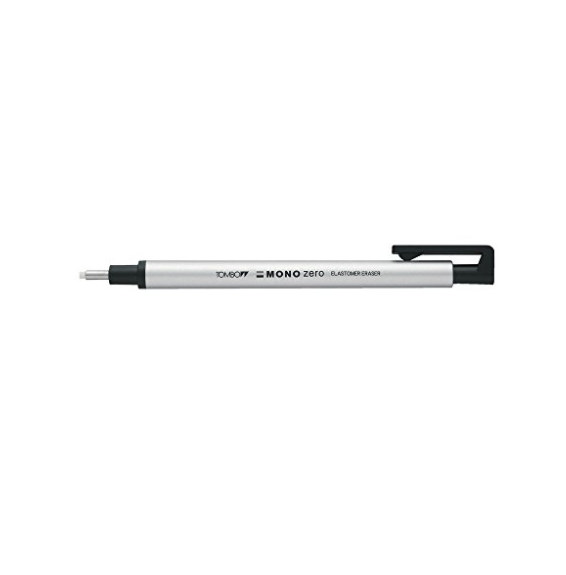 Tombow Mono Zero Eraser 2.3mm - Normal erasers should do, but for tight spaces, having the right size matters. This eraser makes erasing small areas a breeze.
