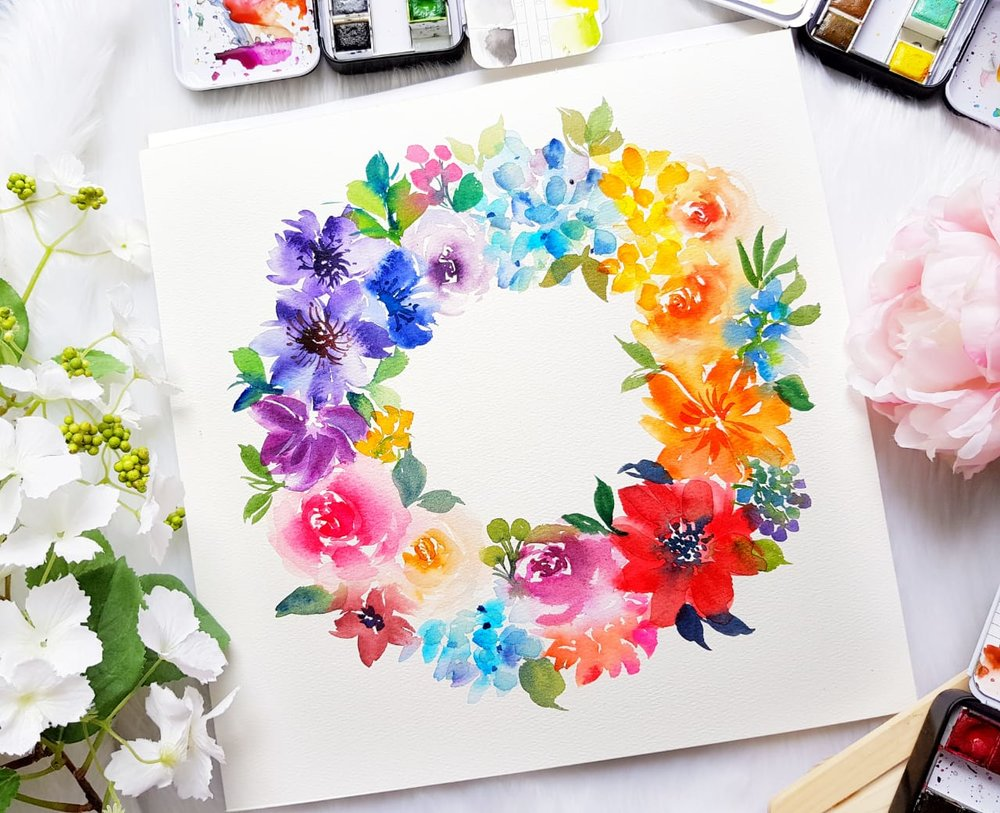 Joly Workshop - Floral Wreath