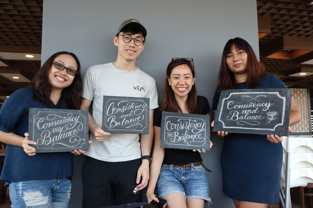 June 20, 2018 - Script Chalk Lettering Workshop