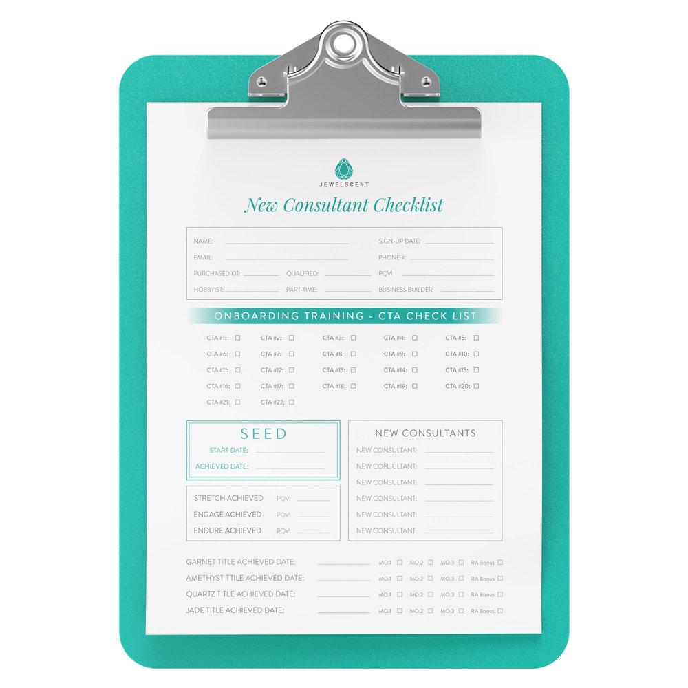 New Consultant Checklist