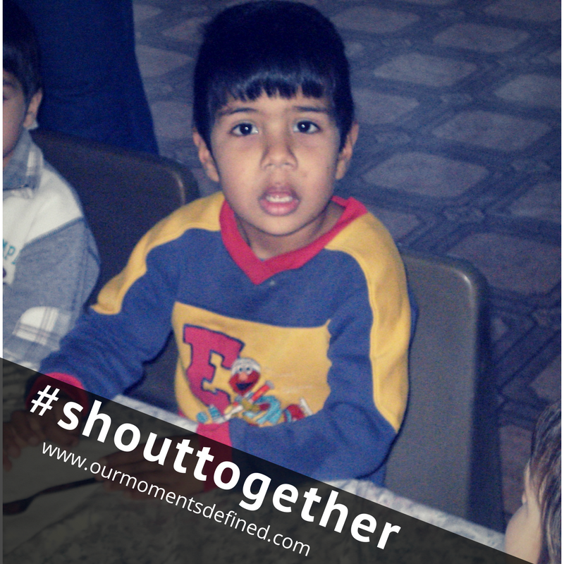 #shouttogether