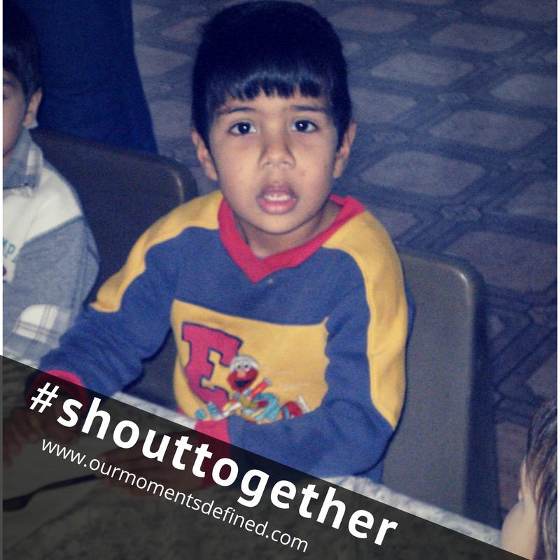 #shouttogether