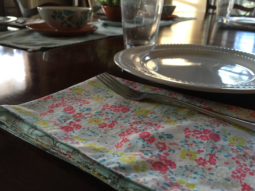 Imagine Goods linen napkin