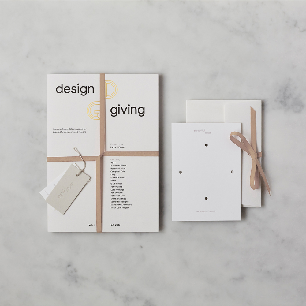 Design Giving Magazine Issue 1