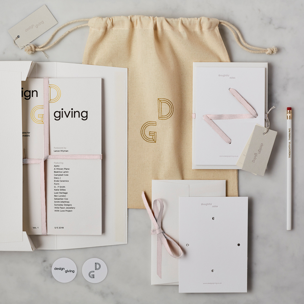 Design Giving Magazine Issue 1 + Luxury Pack