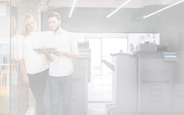 Managed-Printing-Services - Verbrauchsmaterial, Support und Wartung automatisch im Griff.