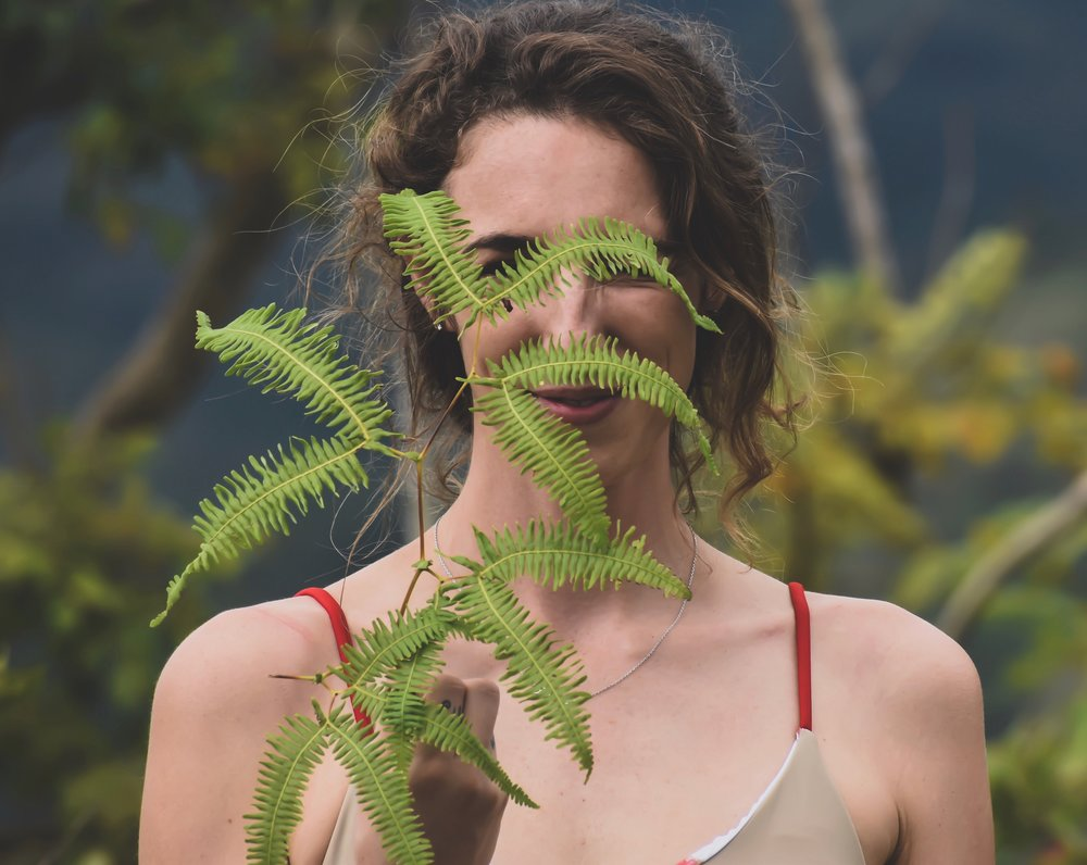 Magdakine Designs SwimwearEco-elegance is the mission of this beautiful swimwear company.It features the Ōhiʻa Lehua, an endangered Hawaiian plant (Metrosideros polymorpha). -
