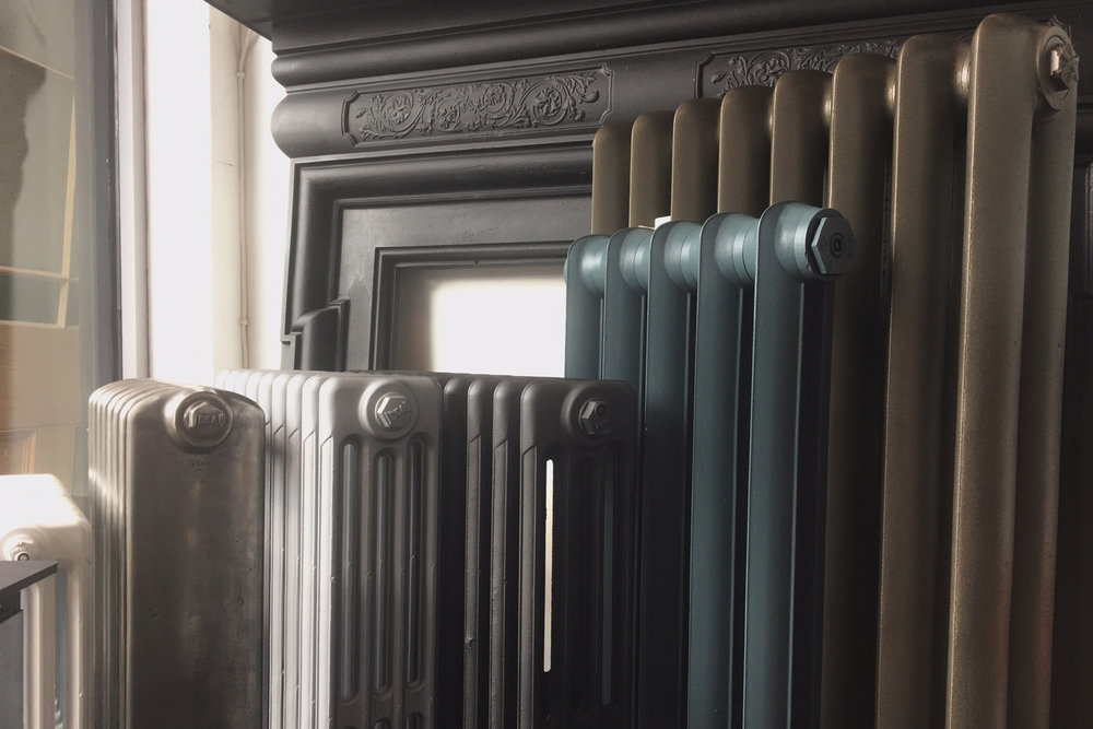 cast-iron-feature-radiators-Peckham-South-London