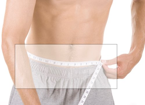 If you prefer to wear over your hips, measure here.