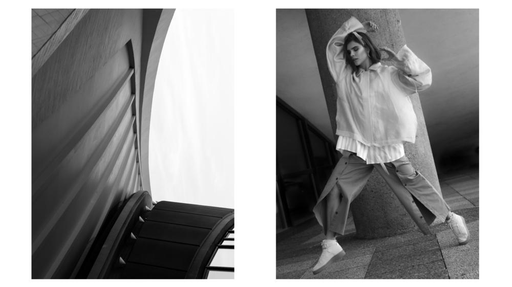 Credits:   Model: Lena with Mirrrs  Styling: Carmen Wolfschluckner  Hair & Makeup: Maha Hölbling  Production, Art Direction, Photography, Post Production: Kemara Pol