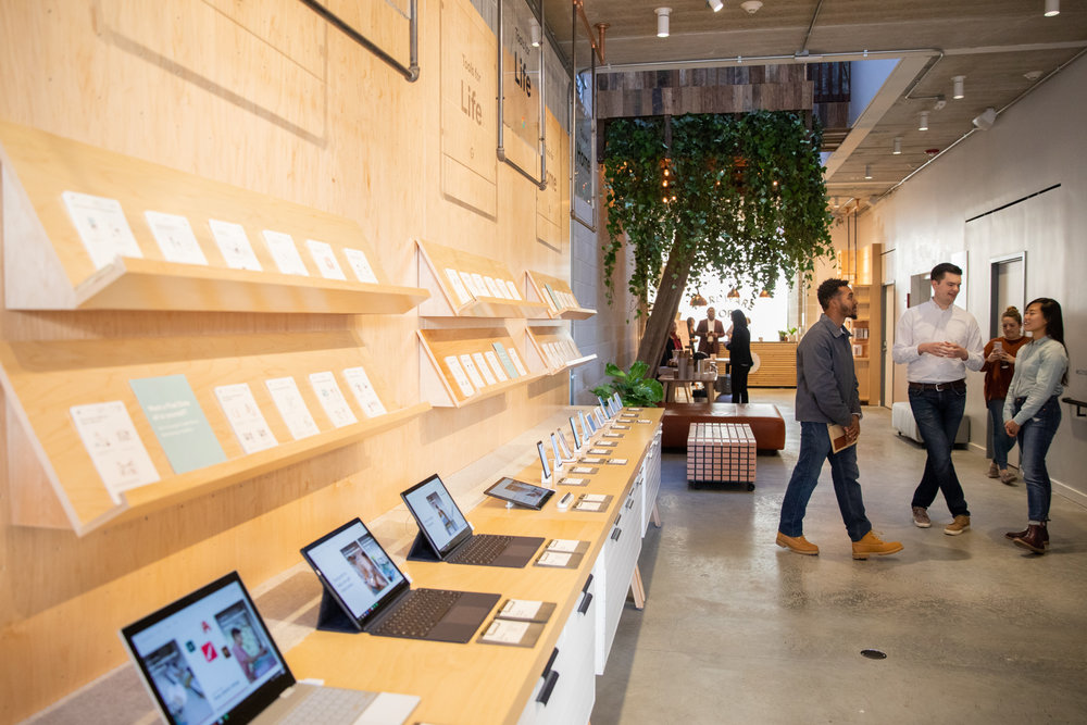 Google's Chicago Pop Up Store
