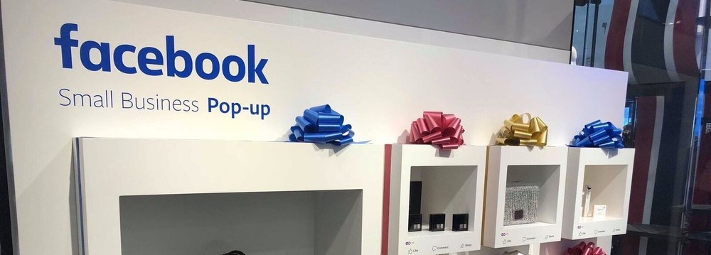 Facebook's Pop-up in Macy's