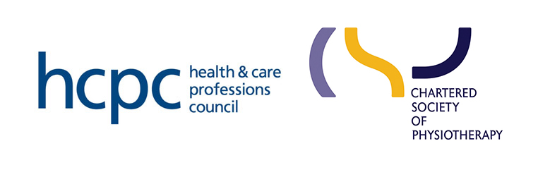 Registered with the Health and Care Professions Council & The Chartered Society of Physiotherapy