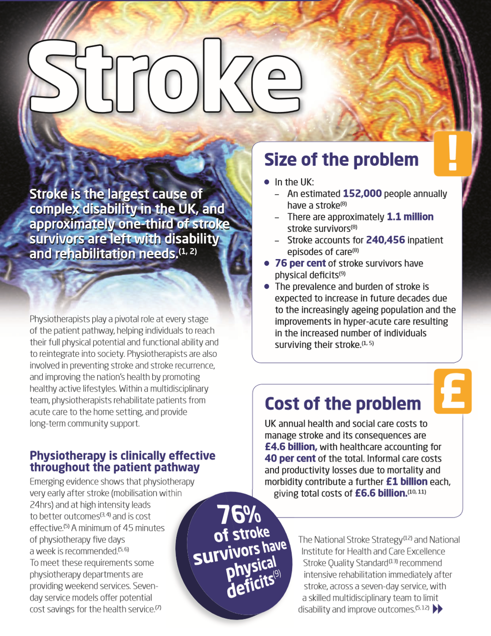 'Stroke' Physiotherapy Works - Chartered Society of Physiotherapy