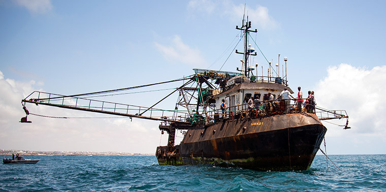 Pirate fishing vessel Greko 1.