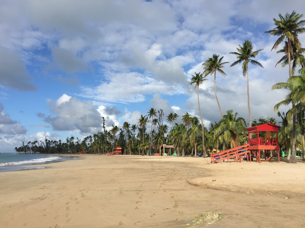 Luquillo Beach. A place to rest, relax, and hangout.