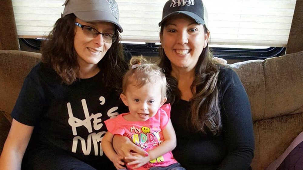Heather Bone, left, and Nanci Weinstein with Bone's daughter Kristina in a May 2016 photo. Weinstein and her husband, David, fostered Kristina while Bone was battling a meth addiction in 2014 and 2015. (Courtesy photo)