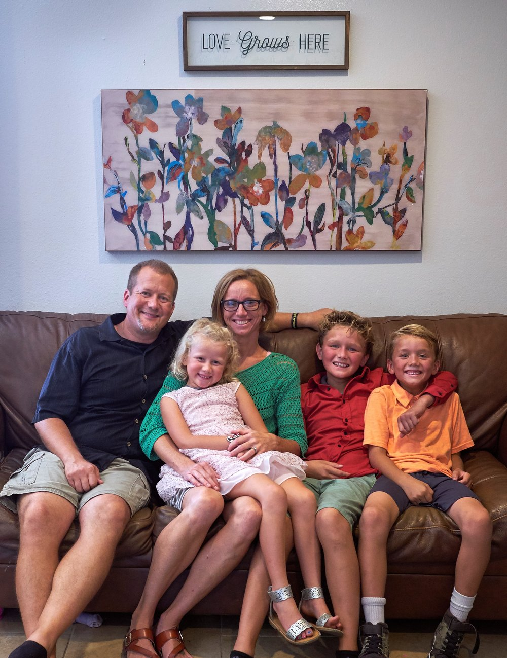 The Landis family provides safety and dependability for kiddos in need.
