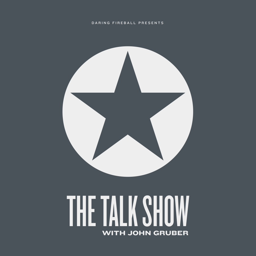 The Talk Show with John Gruber - John Gruber (and guests) tackle deep-dive into issues facing the tech world today.