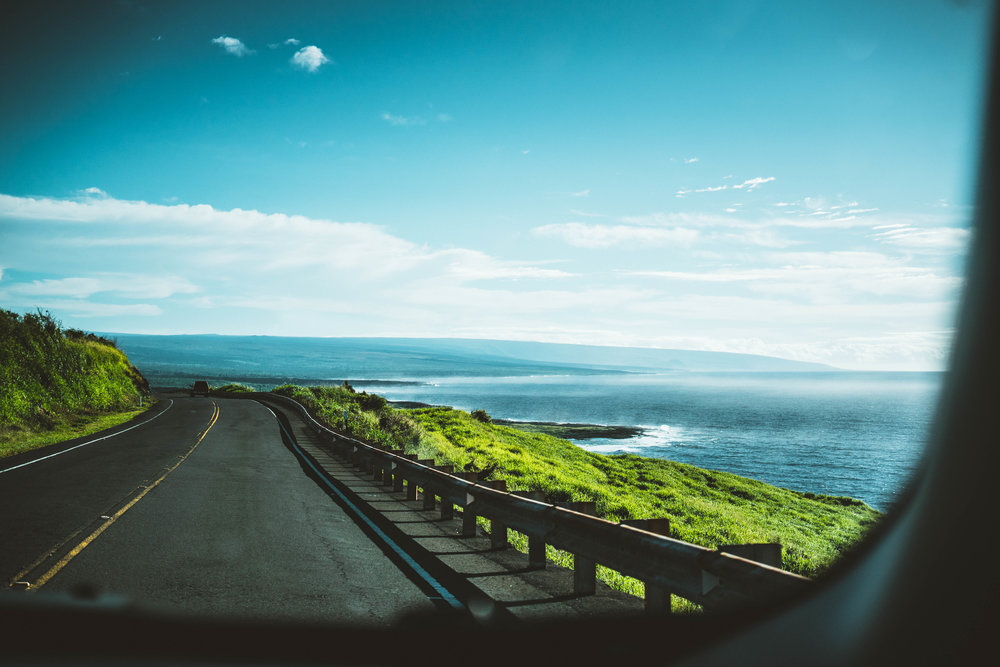 Road tripping on the Big Island. We headed out at 6am to Volcanoes National Park and ended up spending the entire day on the east side of the island. Driving around and getting lost was amazing. Having no schedule was even better.