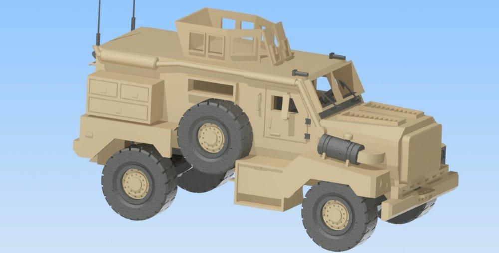 MRAP Cougar - Project Manager & Modeler