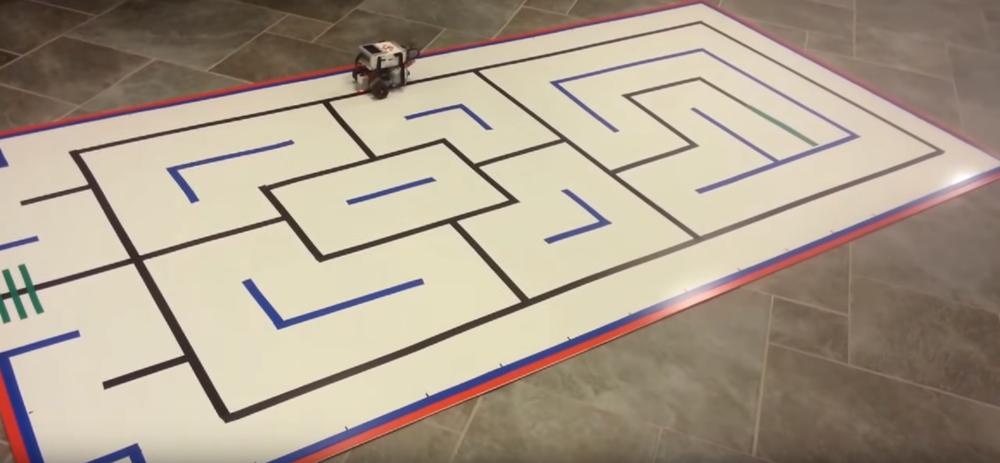 Python Maze Robot - 1st Place PACISE Winner