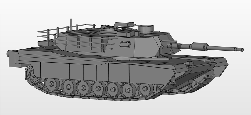 M1 Abrams Tank - Project Manager & Modeler