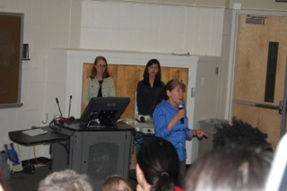 Presenting on CSA at the University of Maryland, to an audience of more than 250. This program was brought forth by the International Partnership Program, the Department of Sociology, and School ofPublic Health, and advertised campus-wide. Extra credit was provided to students to attend.