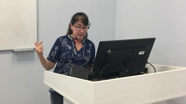 In 2014, Pamela conducted a training in Cyprus for the Ministry of Education and Culture as a part of Stop the Silence programming, along with a partner organization, Survivors Healing Center in California. As a result of that and continued training and involvement, Cyprus has moved forward a holistic and comprehensive CSA prevention and mitigation program.