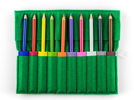 Montessori Geography/Science Pencil Roll