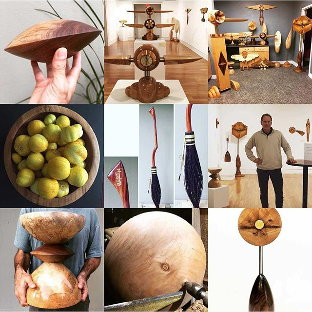 Have a happy and safe New Year's Eve! #2017bestnine #woodworking #wood #woodturning #lathe #woodart #woodartist #woodsculpture