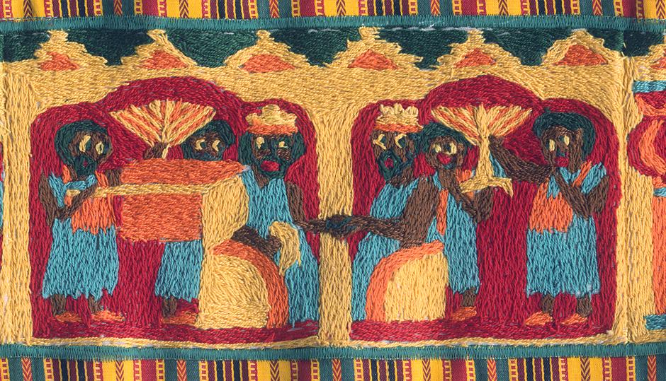 Ethiopian Curtain of the Ark — Ido Michaeli