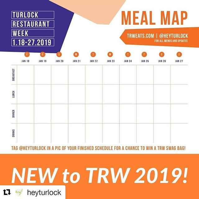 So many great restaurants participating! Here's a way to keep it all straight and maximize the opportunities of amazing food in town! @heyturlock