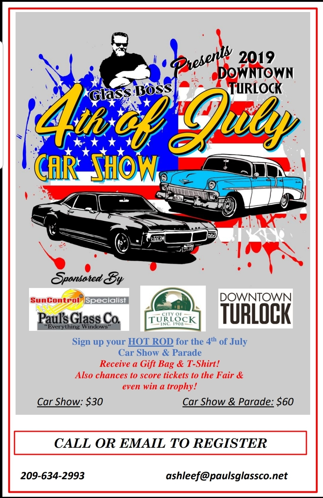 Turlock Christmas Parade 2019 2019 Annual 4th of July Parade and Car Show — Downtown Turlock