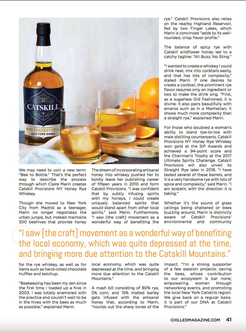 CP - Chilled Magazine - Bee To Bottle Pg 2.jpg