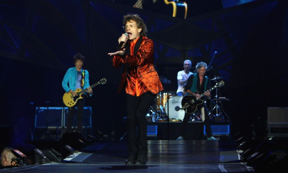 The Rolling Stones in Buffalo (Danielle La Rocco for Forbes)