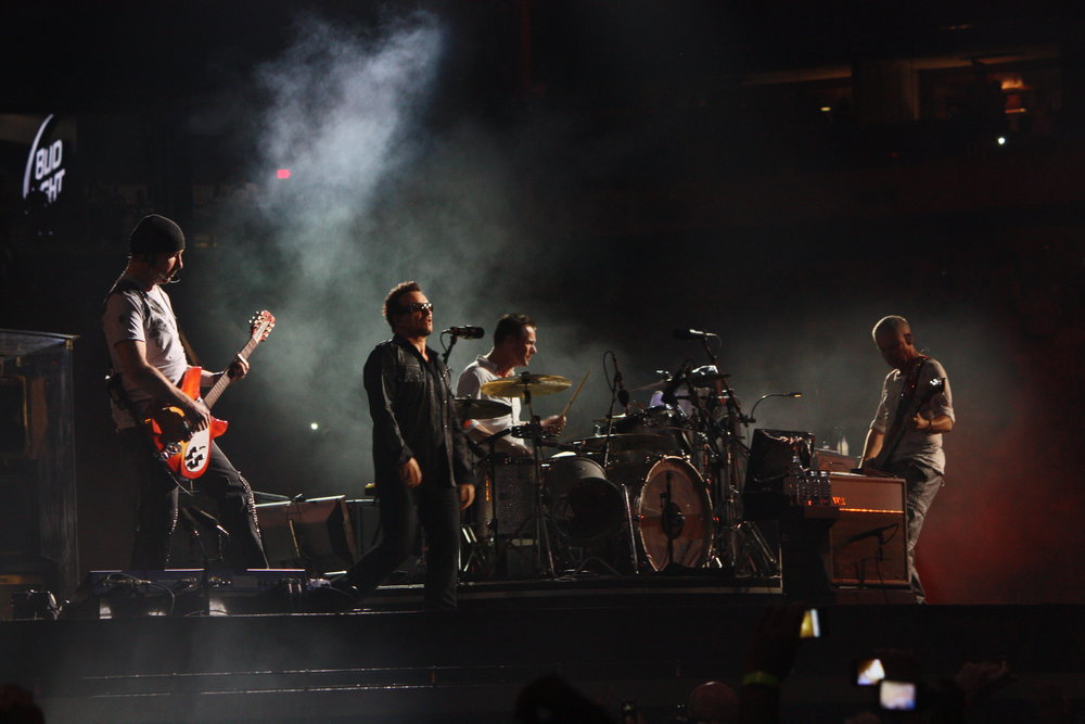 U2 at the Meadowlands (Danielle La Rocco for Forbes)