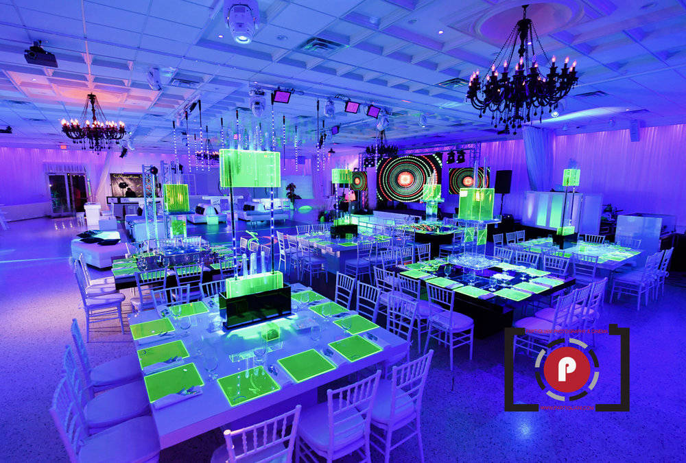 Extreme Neon Safari Bar Mitzvah at Lavan Venue