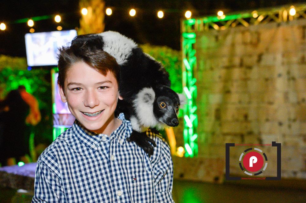 Zack's Extreme Neon Safari Bar Mitzvah Lavan Venue Fort Lauderdale