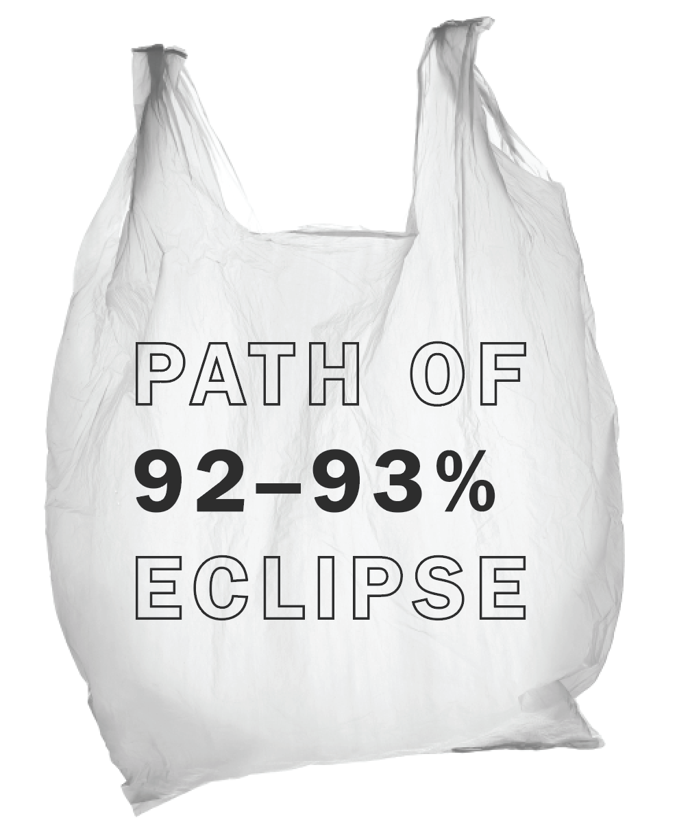Following the release of our colleagues at Fuzzco's awesome  Path of Totality tote  for the solar eclipse of 2017, I felt compelled to design a tote for Raleigh, which is just outside the sweet spot. It's okay, really. We're fine.