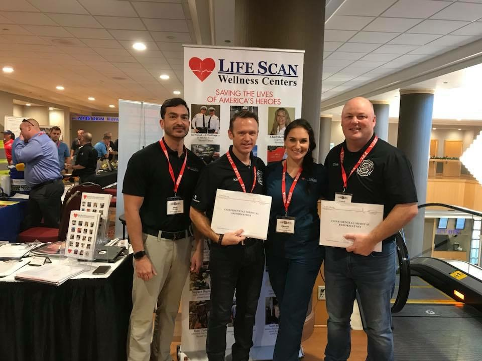Thank You - We met up with the Life Scan Wellness Team at the 2017 Safety and Health Conference in Orlando Florida. Chris Adams and Kelly Piller both had a Life Scan performed.Each Life Scan exam has the added value benefit of ultrasound imaging assessments of the internal organs, heart, and vascular system as well as cardiac and pulmonary testing, extensive laboratory blood profiles, infectious disease testing, diet and nutritional analysis, a state-of-the-art fitness evaluation, and a personalized wellness plan.Contact Trudy Pastine to learn more and schedule your Life Scan NOW. It could save your life.