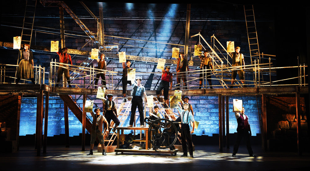 Newsies , Maltz Jupiter Theatre