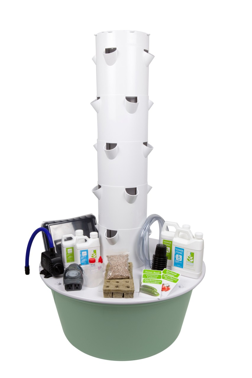 Tower Garden - Tower Garden® simplifies traditional gardening, using a unique vertical garden system that makes it easy to grow your own fresh fruits and vegetables at home.